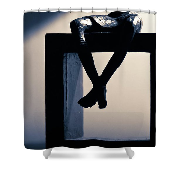 Square Foot Shower Curtain