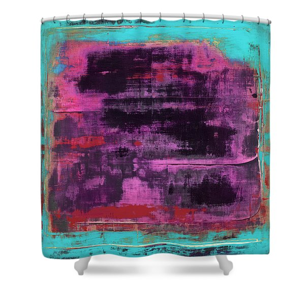 Art Print Square1 Shower Curtain