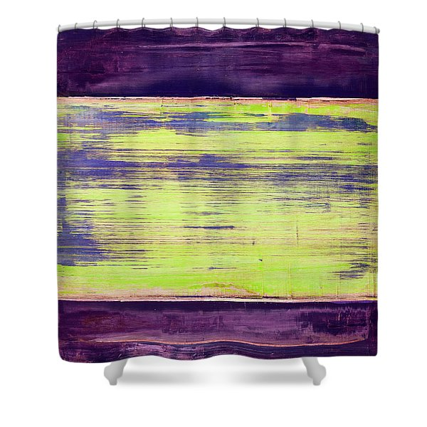 Art Print Square5 Shower Curtain