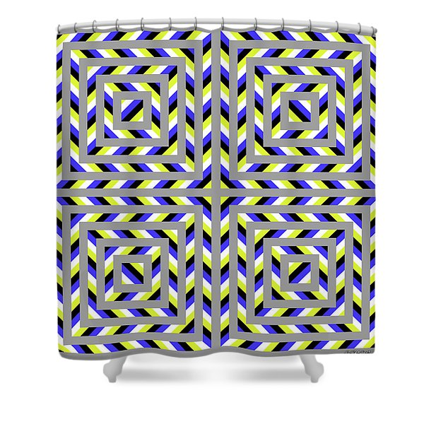 Squaroo Shower Curtain