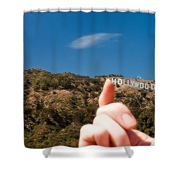 Squish - Beachwood Canyon Shower Curtain