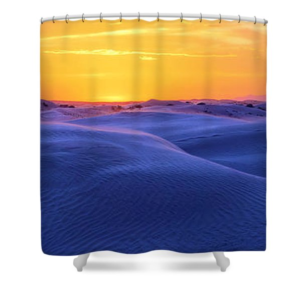 Scramble Shower Curtain