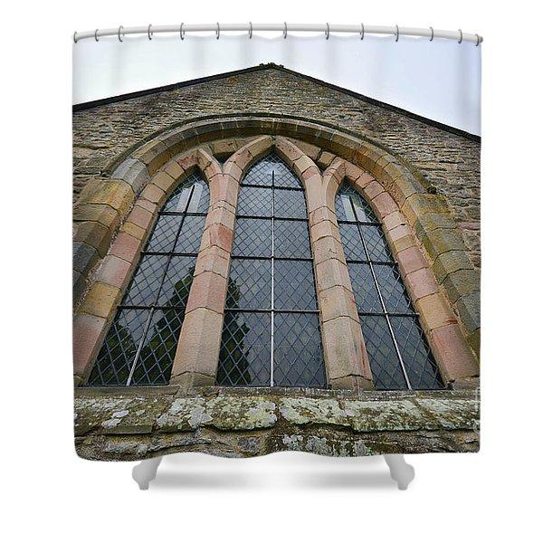 St Agatha's Church, Easby Shower Curtain