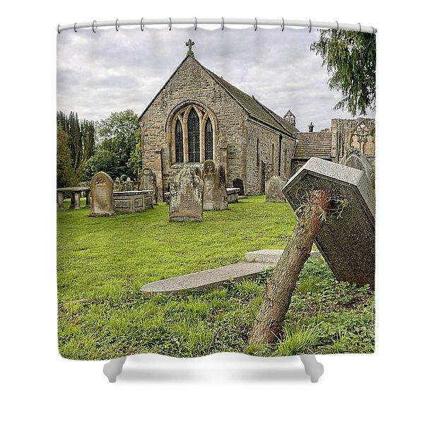 St Agathas Church Shower Curtain