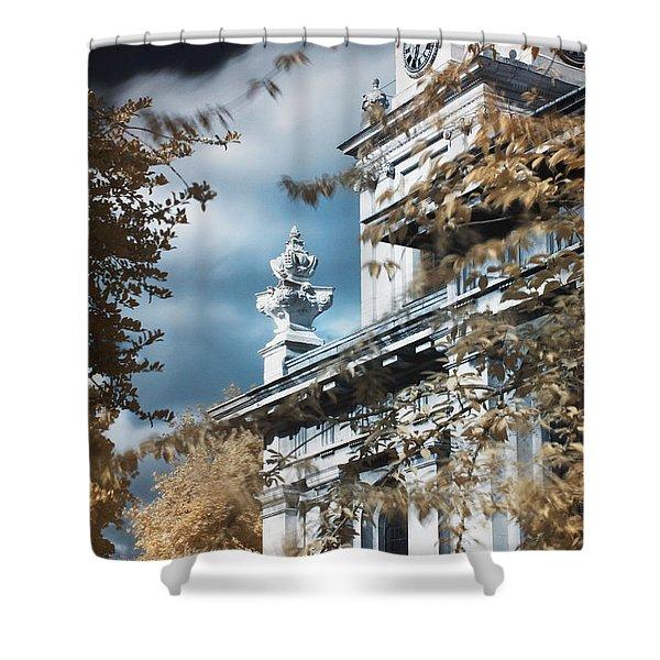 St Alfege Parish Church In Greenwich, London Shower Curtain