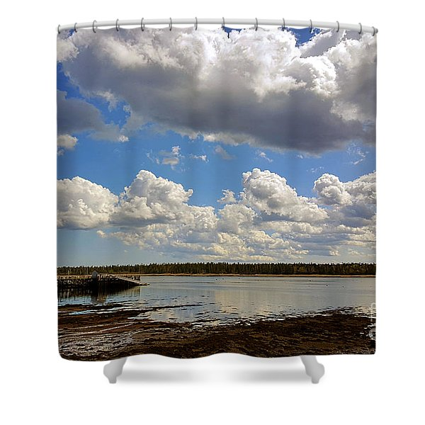 St. Andrews At Low Tide Shower Curtain
