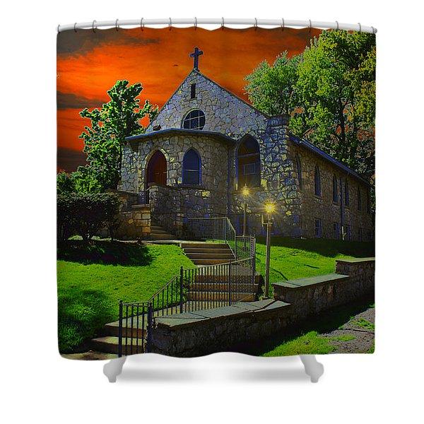 St. Anne's Chapel Shower Curtain