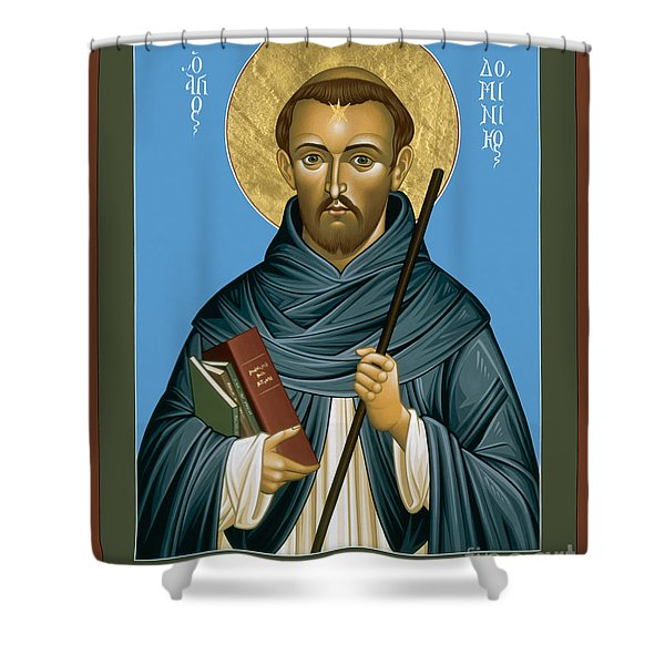 St. Dominic Guzman - Rldmg Shower Curtain