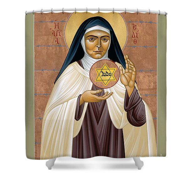 St. Edith Stein Of Auschwitz - Rleds Shower Curtain