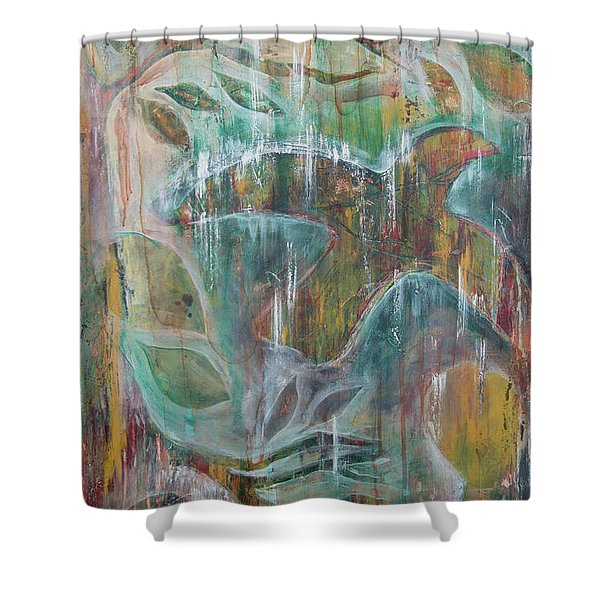 St Francis 3 Shower Curtain