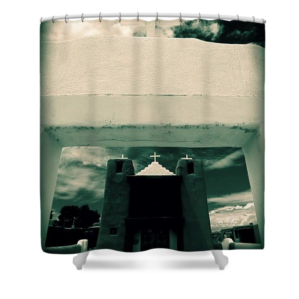 Channeling Ansel Shower Curtain