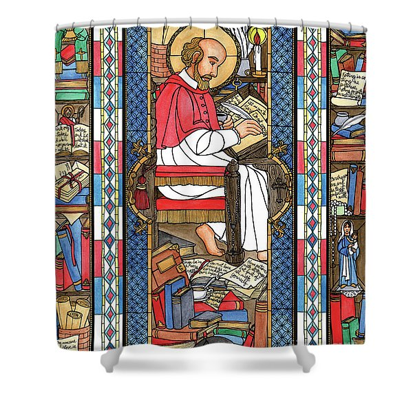 St. Francis De Sales Shower Curtain