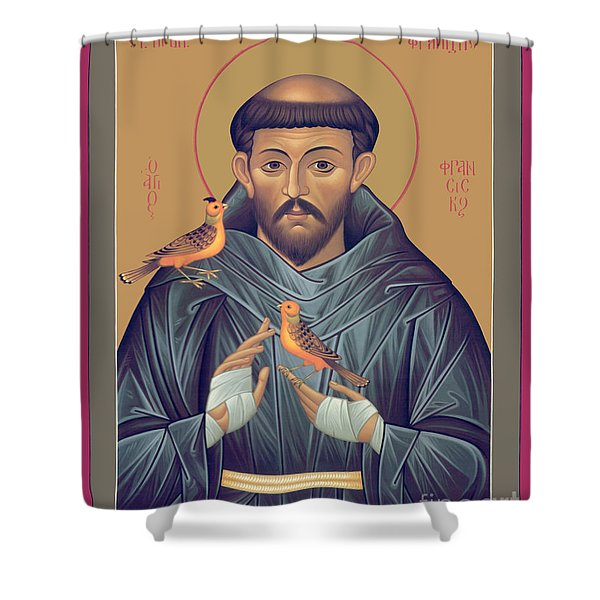 St. Francis Of Assisi - Rlfob Shower Curtain