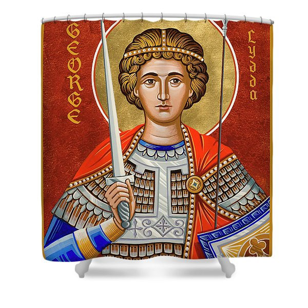 St. George Of Lydda - Jcgly Shower Curtain