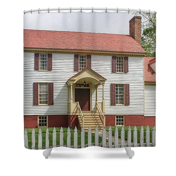 St George Tucker House Shower Curtain