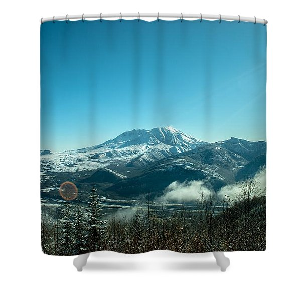 St Helens Big View Shower Curtain