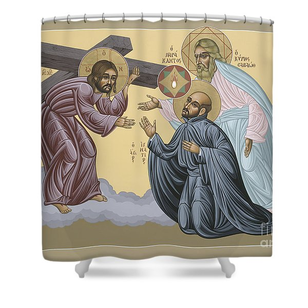 St Ignatius Vision At La Storta 074 Shower Curtain
