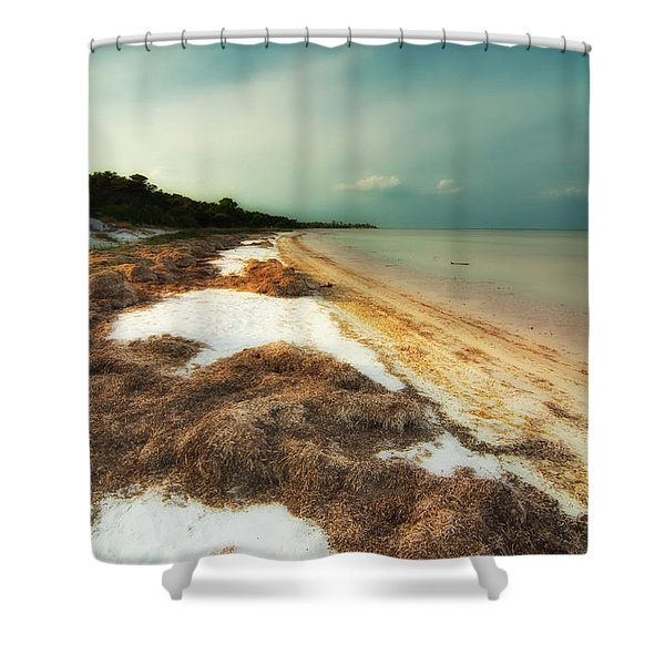 St. Joe's Bay Shower Curtain