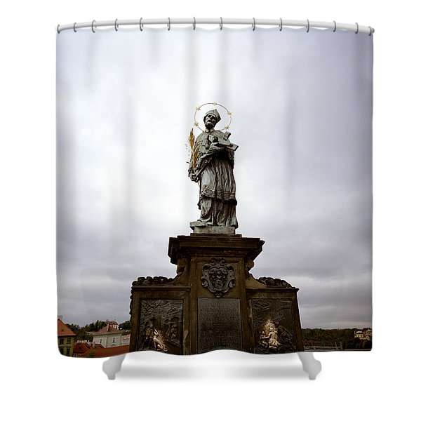 Saint John Of Nepomuk Shower Curtain