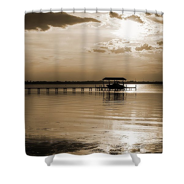 St. Johns River Shower Curtain