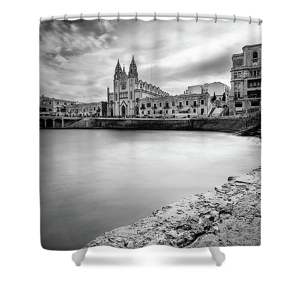 St. Julian's Bay Shower Curtain
