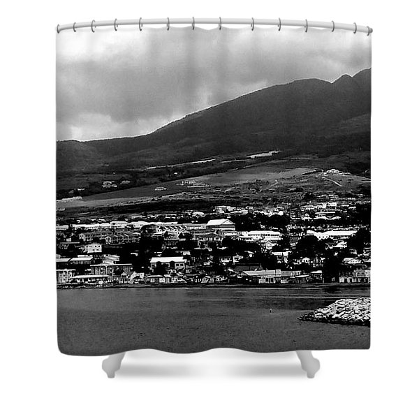 St. Kitts Beautiful Caribbean Island  Shower Curtain