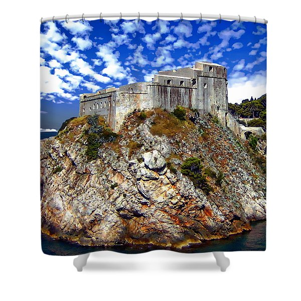 St. Lawrence Fortress Shower Curtain