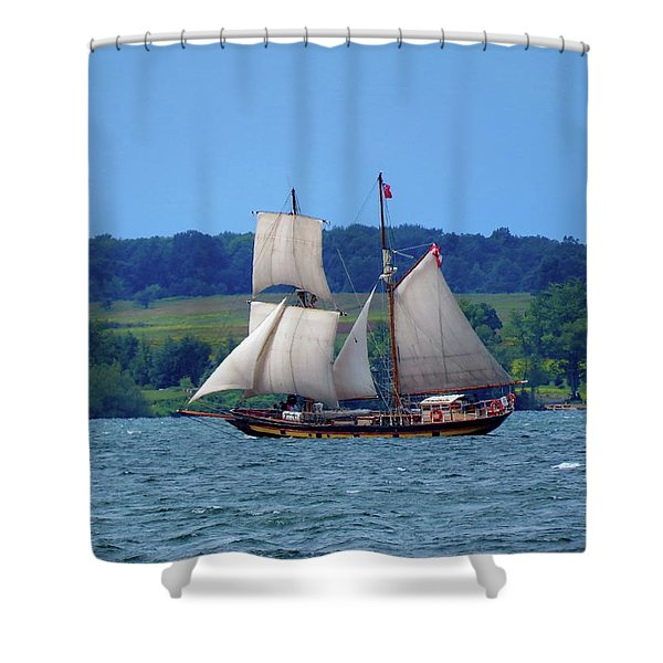 St. Lawrence II  Shower Curtain