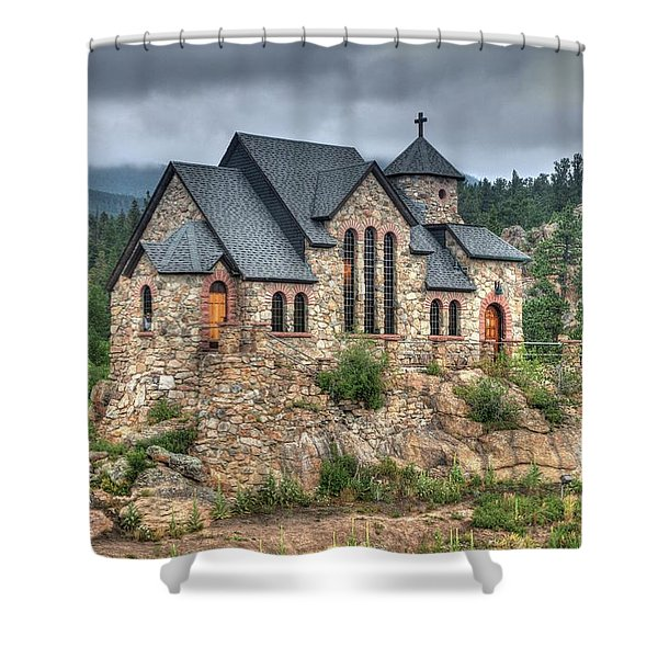 St. Malo Retreat 2 Shower Curtain