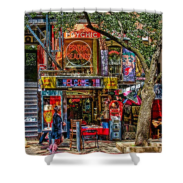 St Marks Place Shower Curtain
