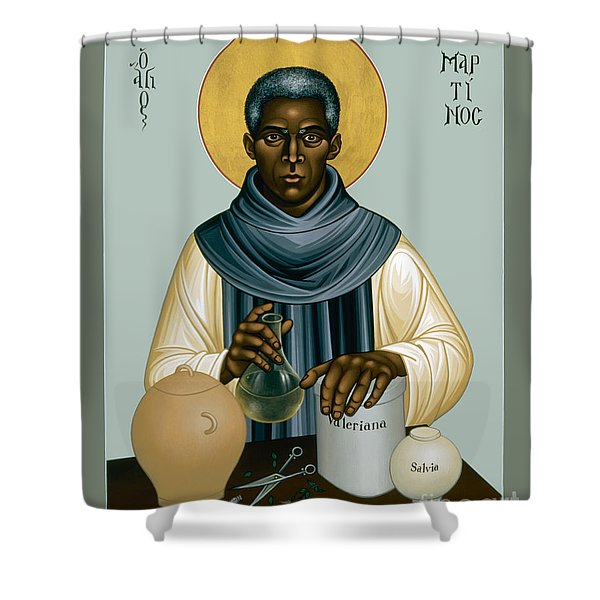 St. Martin De Porres - Rlmpc Shower Curtain