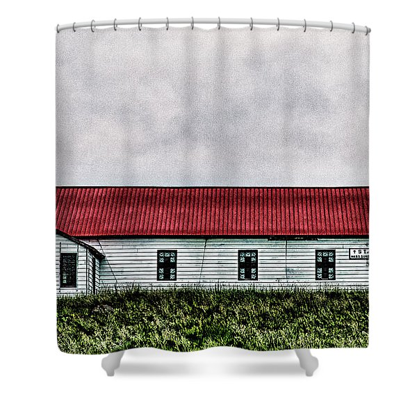 St. Mary Church, Babb, Mt Shower Curtain
