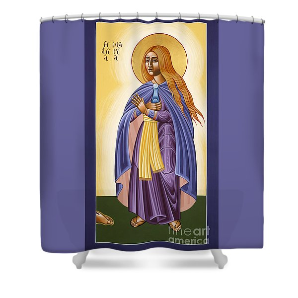 St Mary Magdalen Equal To The Apostles 116 Shower Curtain