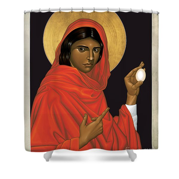 St. Mary Magdalene - Rlmam Shower Curtain