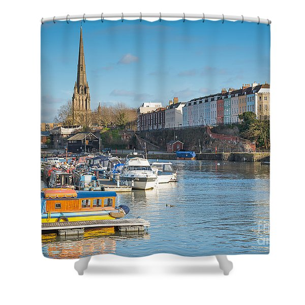 St Mary Redcliffe Church, Bristol Shower Curtain