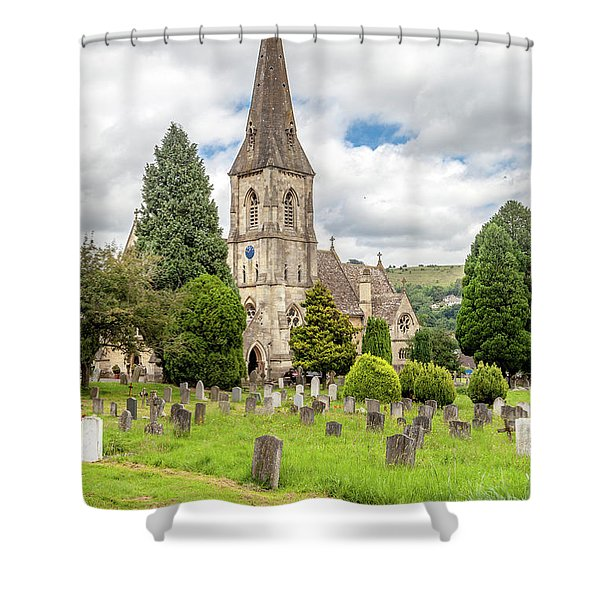 St Mary's Woodchester Shower Curtain