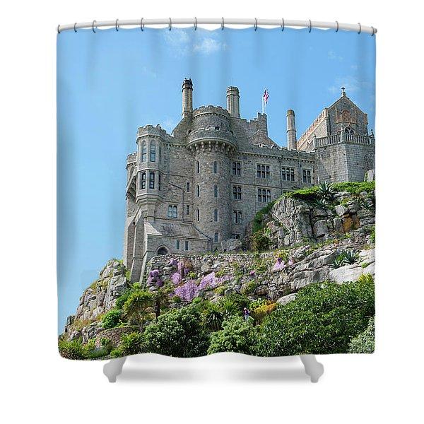 St Michael's Mount Castle Shower Curtain