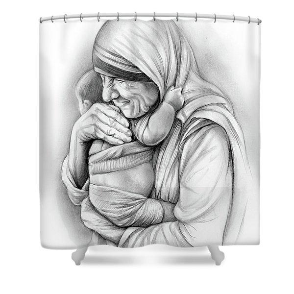 St Mother Teresa Shower Curtain