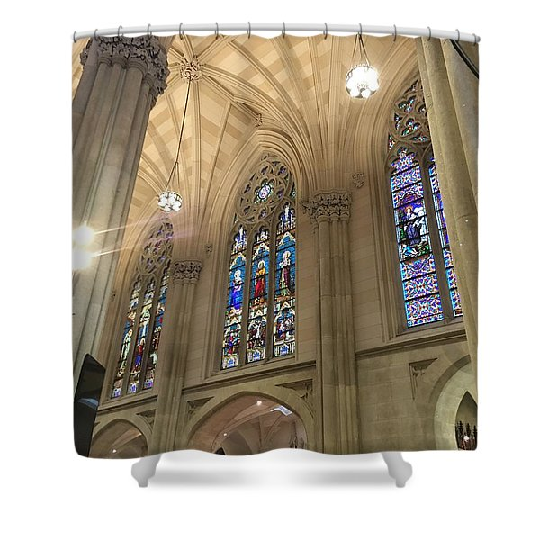 St. Patricks Cathedral Interior Shower Curtain