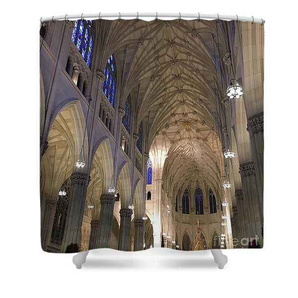 St. Patricks Cathedral Main Interior Shower Curtain