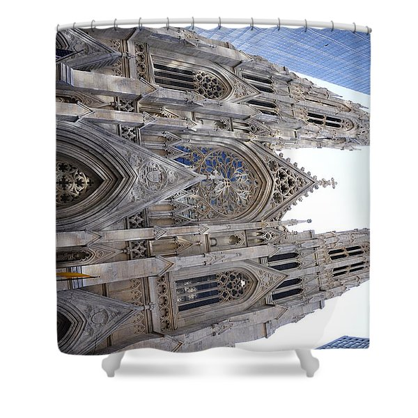 St Patrick's Cathedral Nyc Shower Curtain