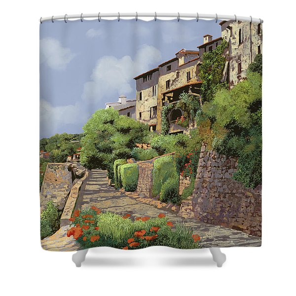 St Paul De Vence Shower Curtain