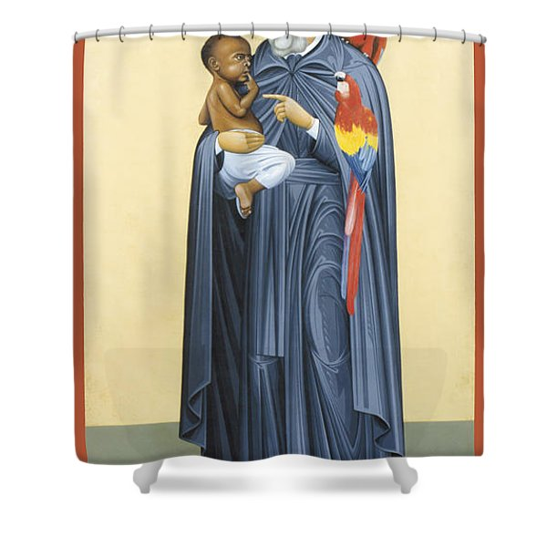 St. Peter Claver - Rlprc Shower Curtain