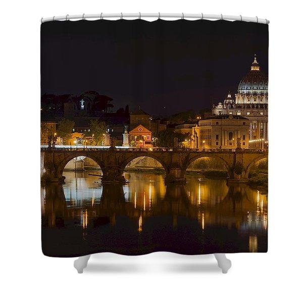 St. Peter's Basilica-655 Shower Curtain