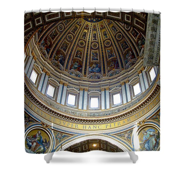 St. Peters Basilica Dome Shower Curtain