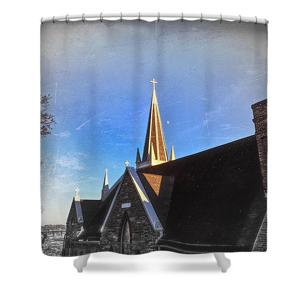 St. Peter's Spire Shower Curtain