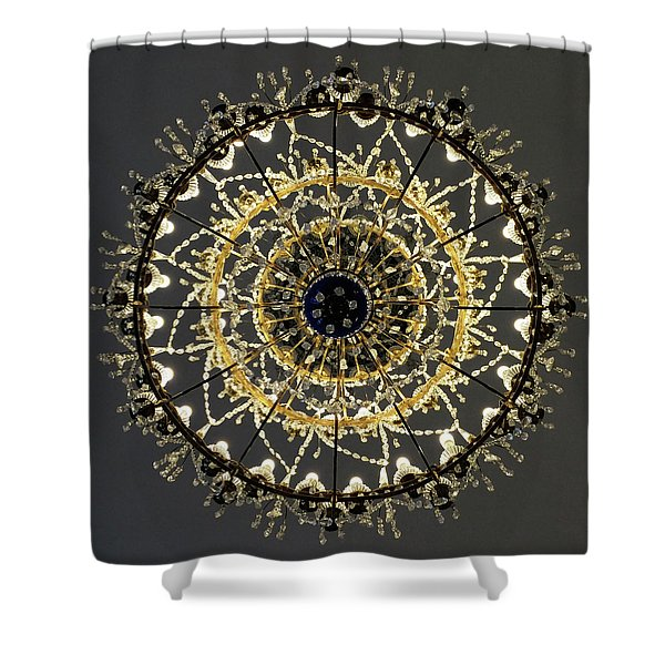 St Petersburg Winter Palace 2 Shower Curtain