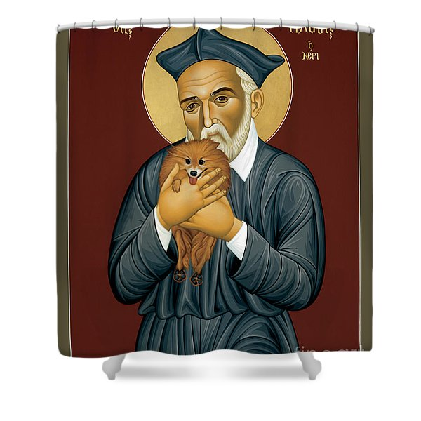 St. Philip Neri - Rlpln Shower Curtain