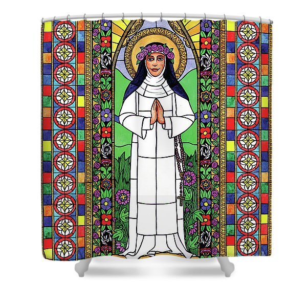 St. Rose Of Lima Shower Curtain