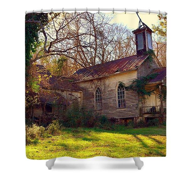 St Simon Church Peak Sc Shower Curtain